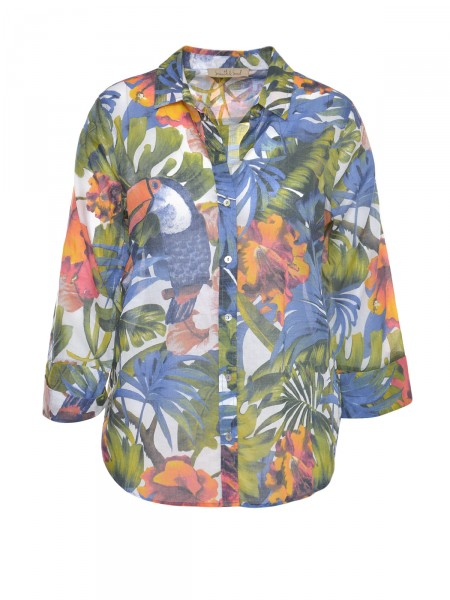 SMITH & SOUL Damen Bluse, bunt