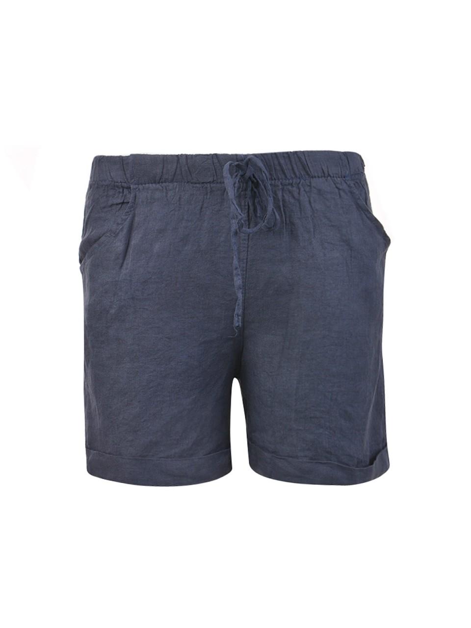 heartkiss-damen-shorts-navy