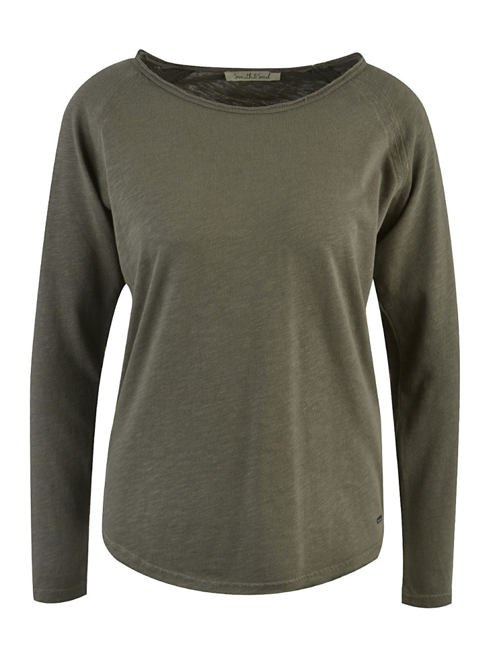 Oberteile - SMITH SOUL Damen Sweatshirt, oliv  - Onlineshop Designermode.com