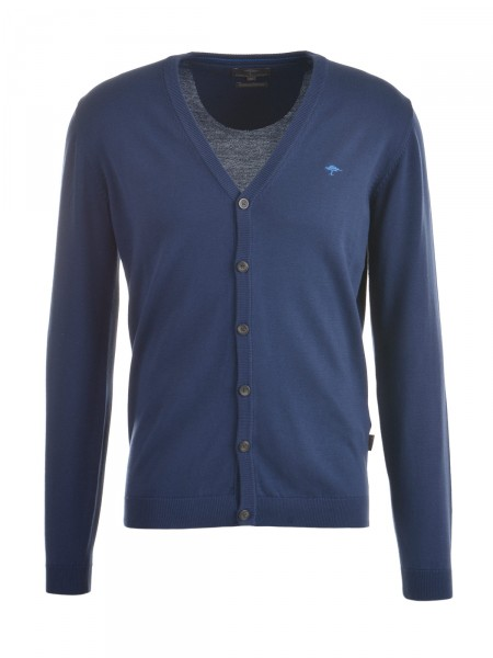 FYNCH-HATTON Herren Strickjacke, navy