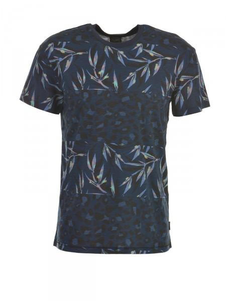 JACK & JONES Herren T-Shirt, navy