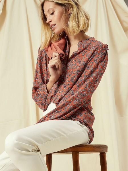 SMITH & SOUL Damen Bluse, rost