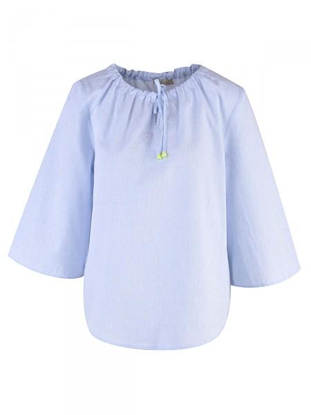 SMITH & SOUL Damen Bluse, hellblau