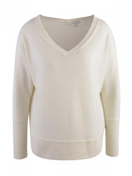 MILANO ITALY Damen Pullover, creme