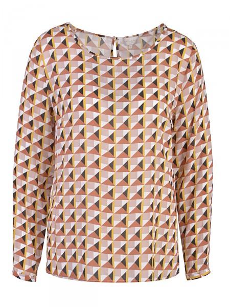 MILANO ITALY Damen Bluse, braun