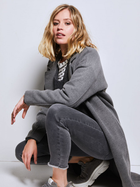 SMITH & SOUL Damen Mantel, grau
