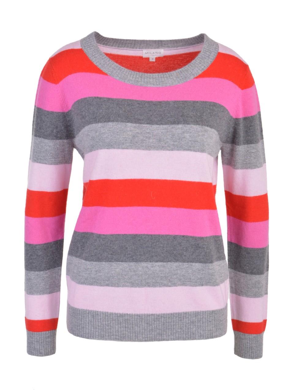milano-italy-damen-pullover-pink