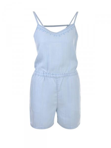 VERO MODA Damen Jumpsuit, blau