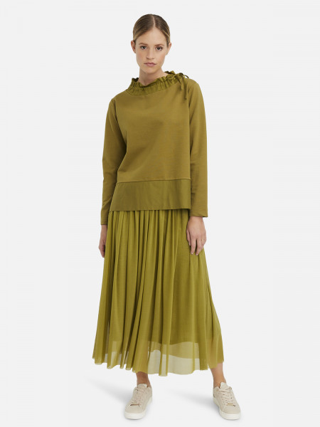 MILANO ITALY Damen Sweatshirt, grün