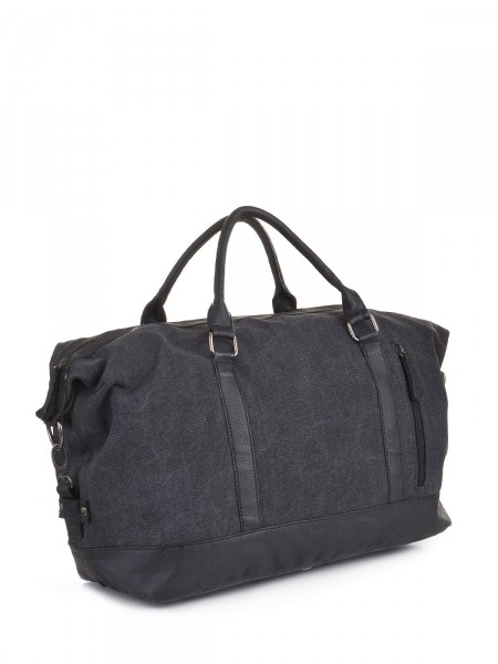 Canvas Damen Tasche, anthrazit