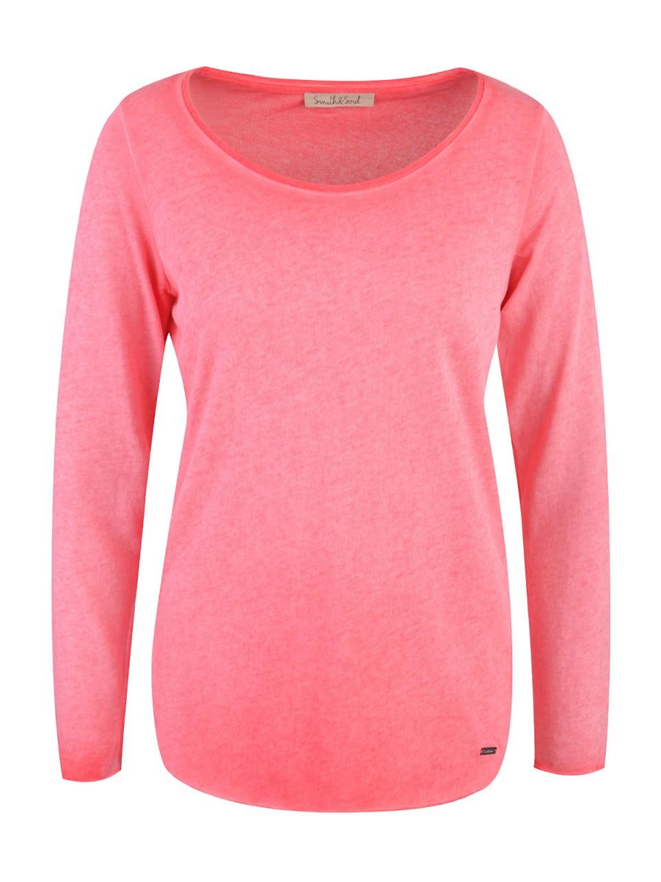 smith-amp-soul-damen-shirt-rosa