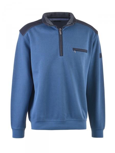 BUGATTI Herren Sweatshirt, blau