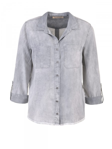 SMITH & SOUL Damen Bluse, grau
