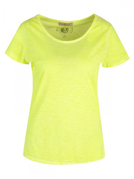 SMITH & SOUL Damen T-Shirt, gelb