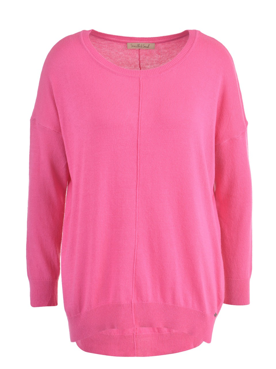 smith-amp-soul-damen-pullover-pink