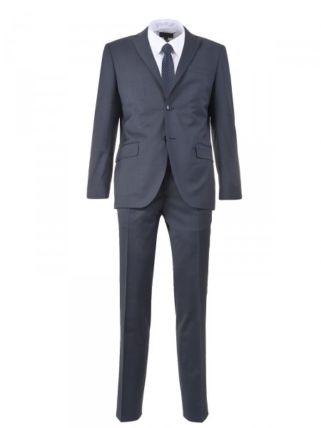 MILANO ITALY Herren Anzug, dunkelblau
