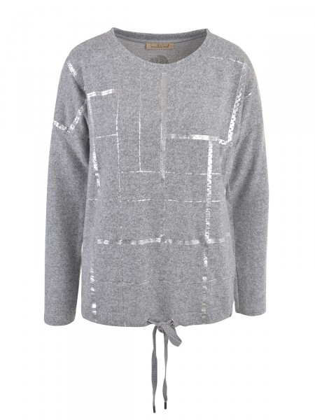 SMITH & SOUL Damen Pullover, grau