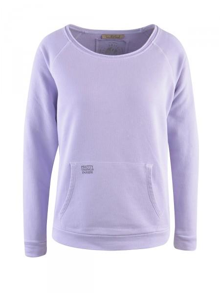 SMITH & SOUL Damen Sweatshirt, lavendel