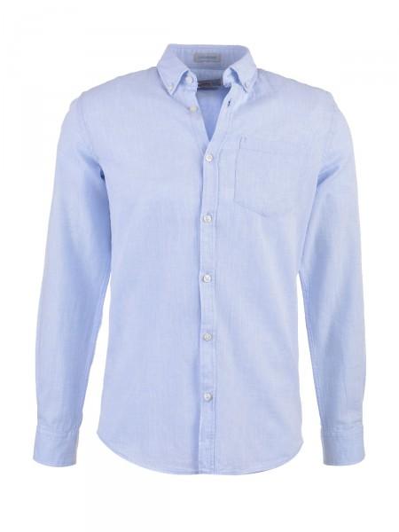 JACK & JONES Herren Hemd, blau