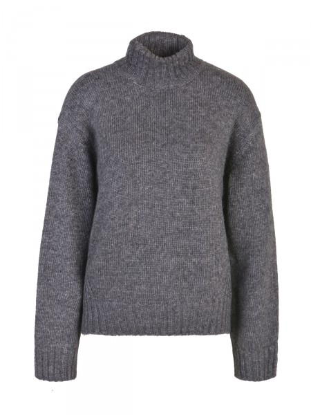 SMITH & SOUL Damen Strickpullover, dunkelgrau