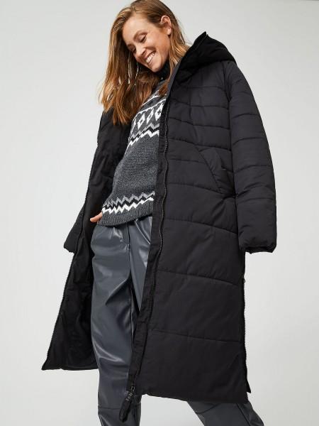 SMITH & SOUL Damen Mantel, schwarz