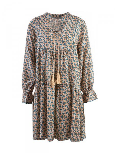 HEARTKISS Damen Kleid, petrol
