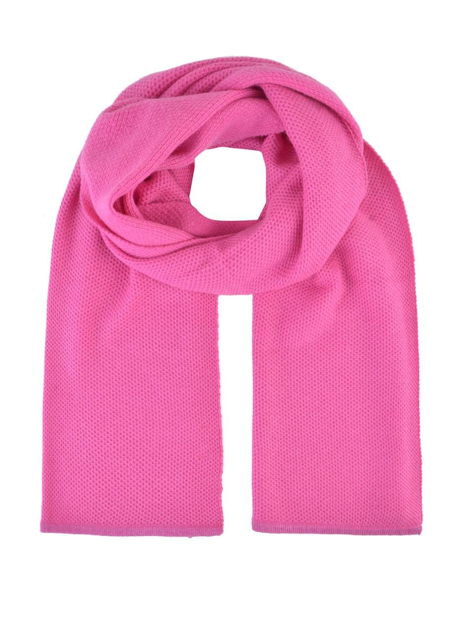 Schals - MILANO ITALY Schal mit Kaschmiranteil, pink  - Onlineshop Designermode.com