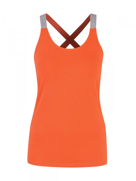 SMITH & SOUL Damen Top, orange