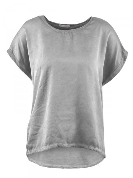 HEARTKISS Damen T-Shirt, grau