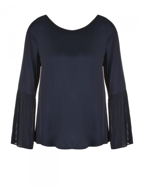 SMITH & SOUL Damen Bluse, navy
