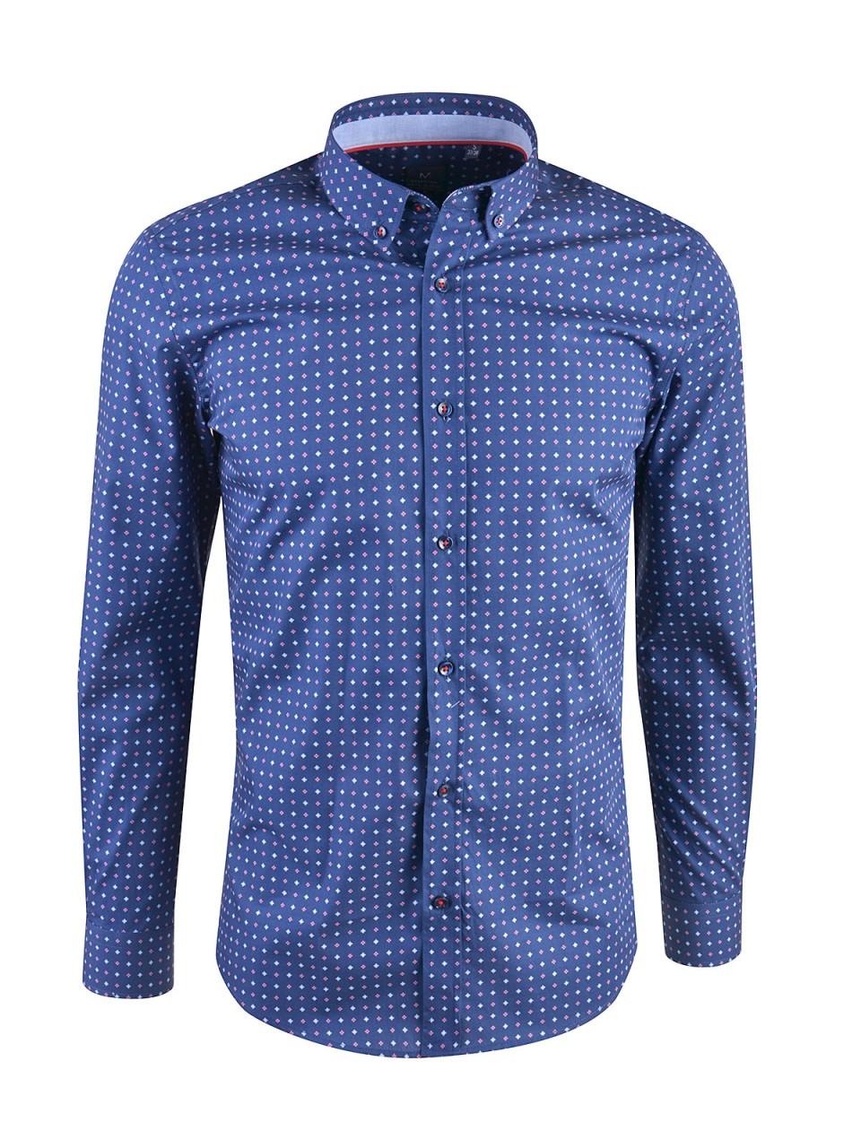 milano-italy-herren-hemd-dunkelblau