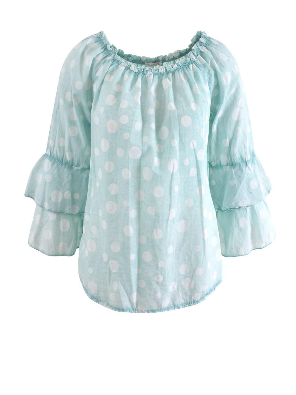 heartkiss-damen-bluse-t-uuml-rkis, 9.99 EUR @ designermode-com-mode