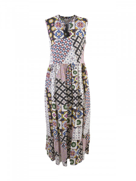 MILANO ITALY Damen Kleid, creme