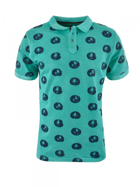 MILANO ITALY Herren Poloshirt, grün