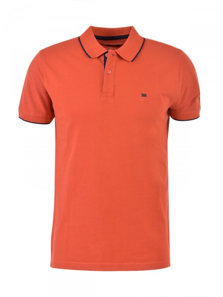 BOSTON BROTHERS Herren Poloshirt, orange
