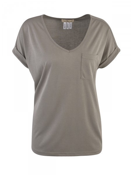 SMITH & SOUL Damen T-Shirt, oliv