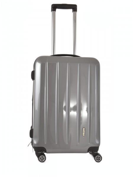 "MILANO ITALY Trolley ""London TSA 60 cm"", silber"