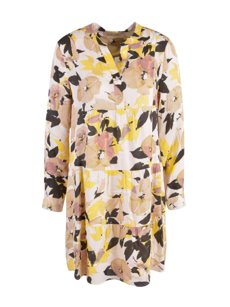 Kleider - SMITH SOUL Damen Kleid, gelb  - Onlineshop Designermode.com