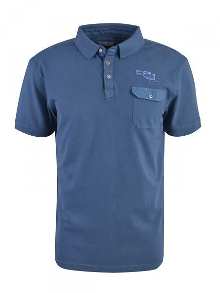 MILANO ITALY Herren Poloshirt, dunkelblau