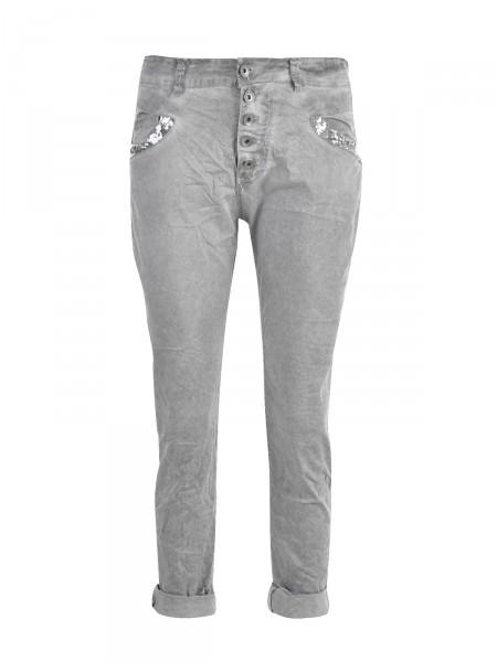 C-M PREMIUM Damen Jeans, grau