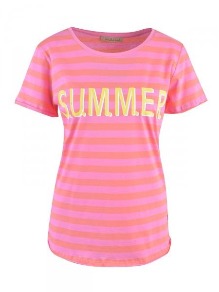 SMITH & SOUL Damen T-Shirt, pink