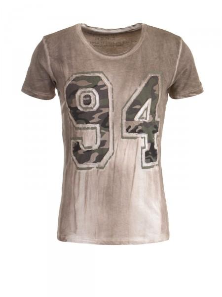 KEY LARGO Herren T-Shirt, braun