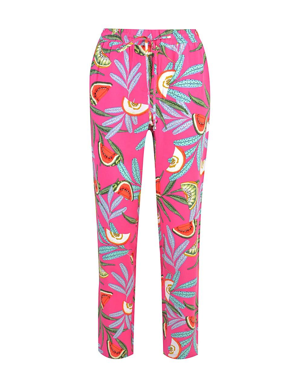 Hosen - MILANO ITALY Damen Hose, pink  - Onlineshop Designermode.com