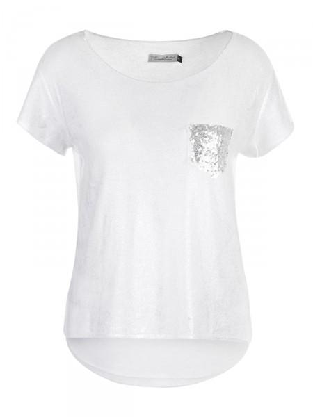 DUBBIN & HOLLINSHEAD Damen T-Shirt, weiß