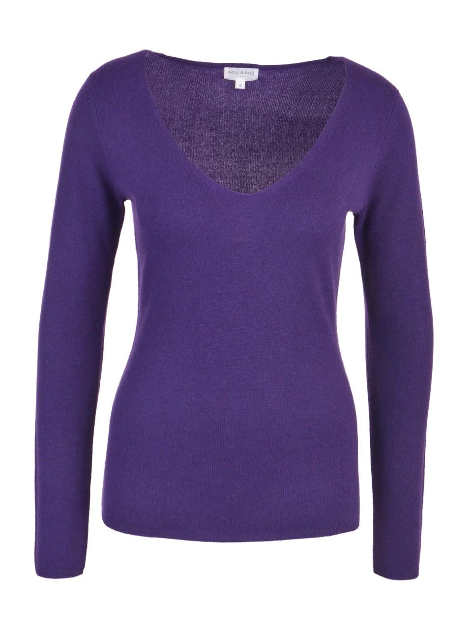 milano-italy-damen-kaschmir-pullover-lila