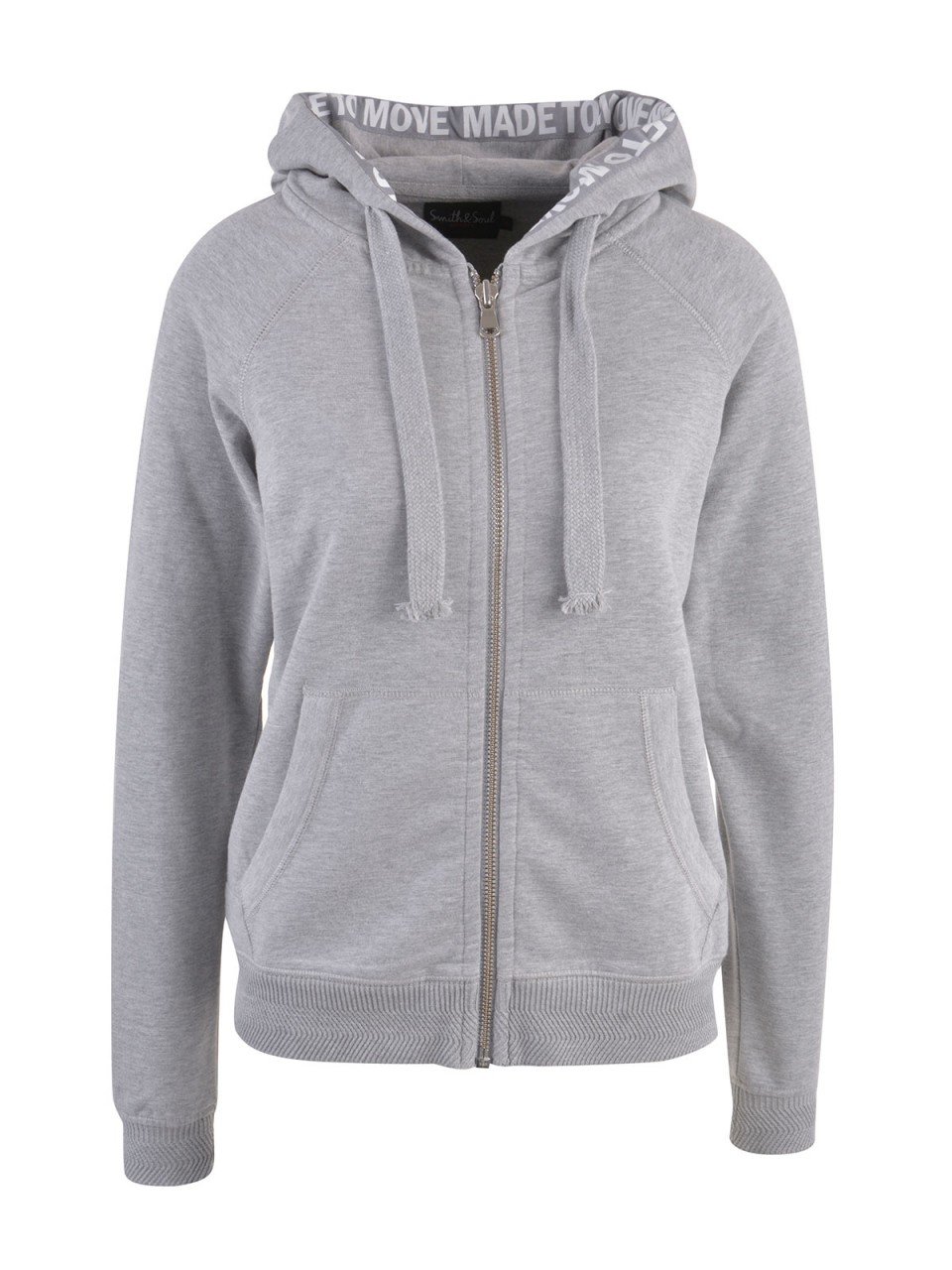 Jacken - SMITH SOUL Damen Sweatjacke, grau  - Onlineshop Designermode.com