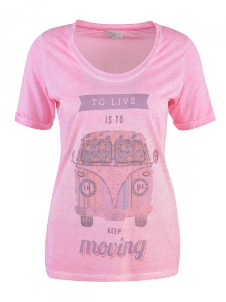 MILANO ITALY Damen T-Shirt, pink