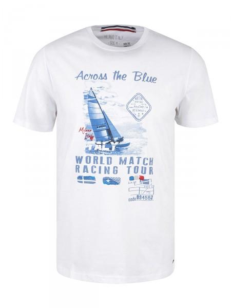 MILANO ITALY Herren T-Shirt, weiß