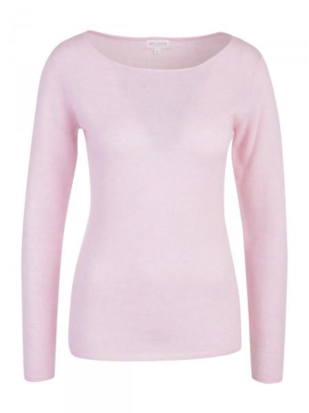 Milano Italy Damen Kaschmir Pullover, pink