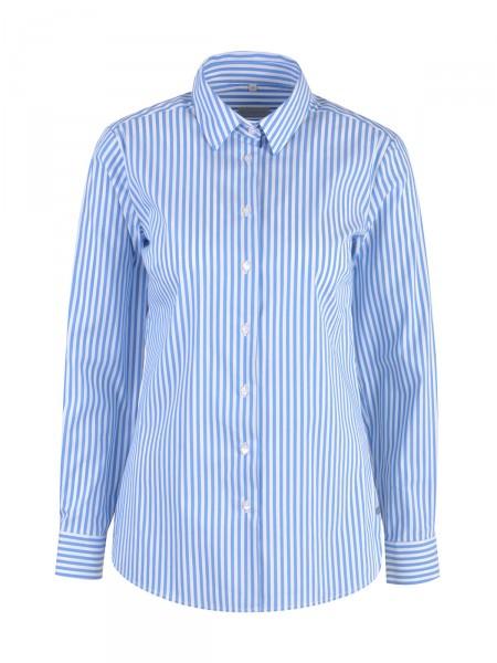 MILANO ITALY Damen Bluse, hellblau